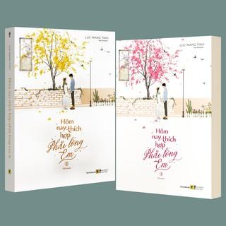 Sách - Hôm Nay Thích Hợp Phải Lòng Em - Bộ 2 quyển (Kèm Postcard)