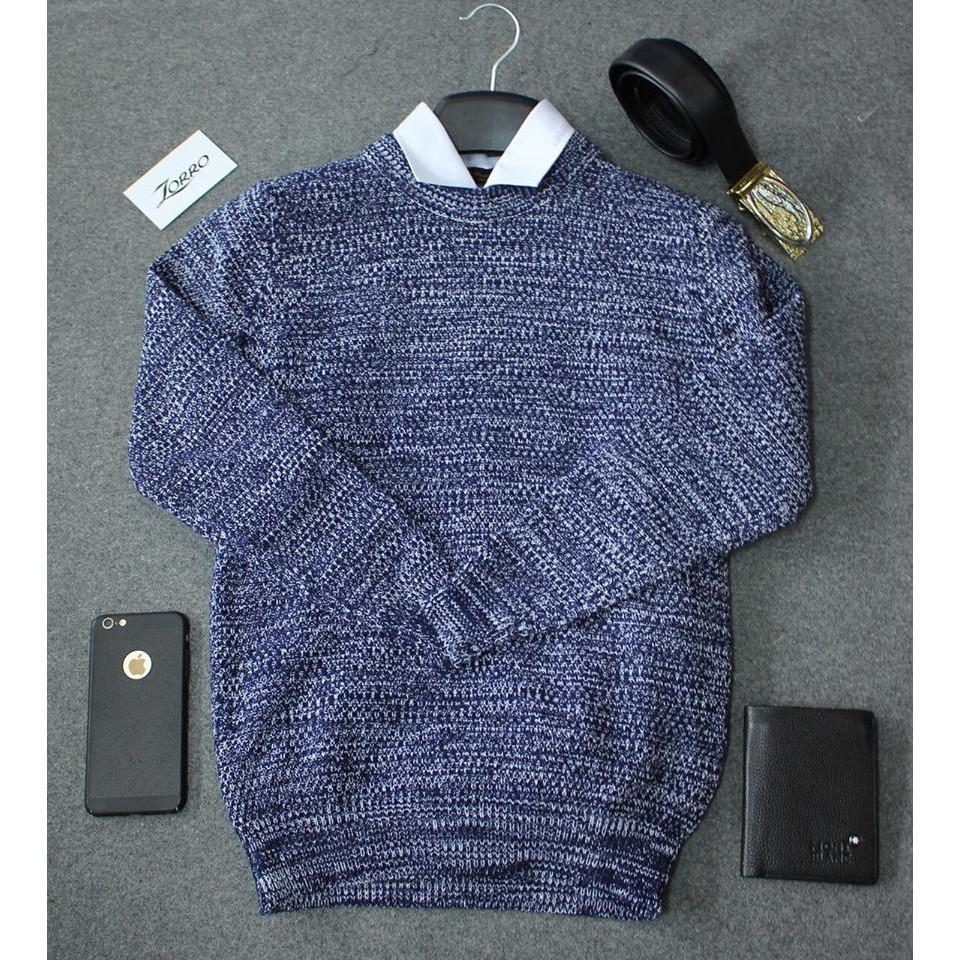 Áo len tiêu cao cấp nam cổ Hàn Quốc ,len đan dầy đẹp ( đủ màu, đủ size ) - Áo len dài tay có cổ