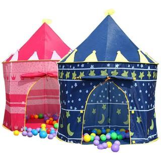 Lều công chúa hoàng tử cho bé yêu – lều chơi nhà chòi cổ tích không kèm bóng