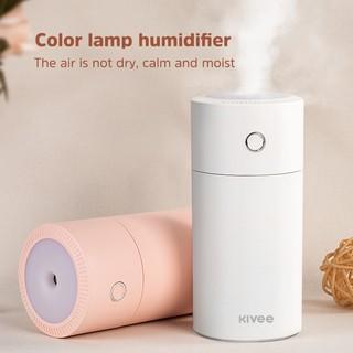 KIVEE JSQ07 Đèn nhiều màu sắc Máy tạo ẩm không khí mini cho văn phòng gia đình