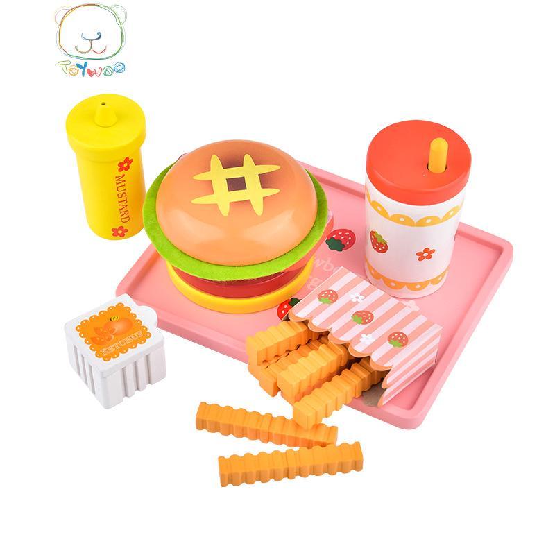 Bộ đồ chơi nhà bếp bằng gỗ chất lượng cao dành cho bé