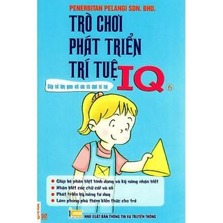 Sách - Trò Chơi Phát Triển Trí Tuệ IQ - Quyển 6 thumbnail