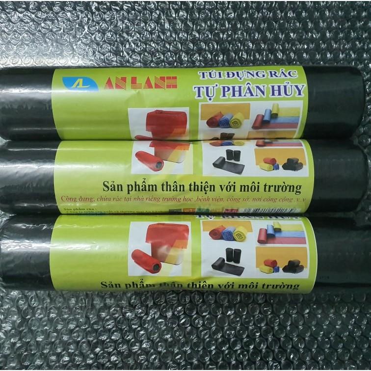 Túi Đựng Rác Tự Phân Hủy An Lành Màu Đen Dai Dày Bảo Vệ Môi Trường - Zaky Mart Official - TDR001