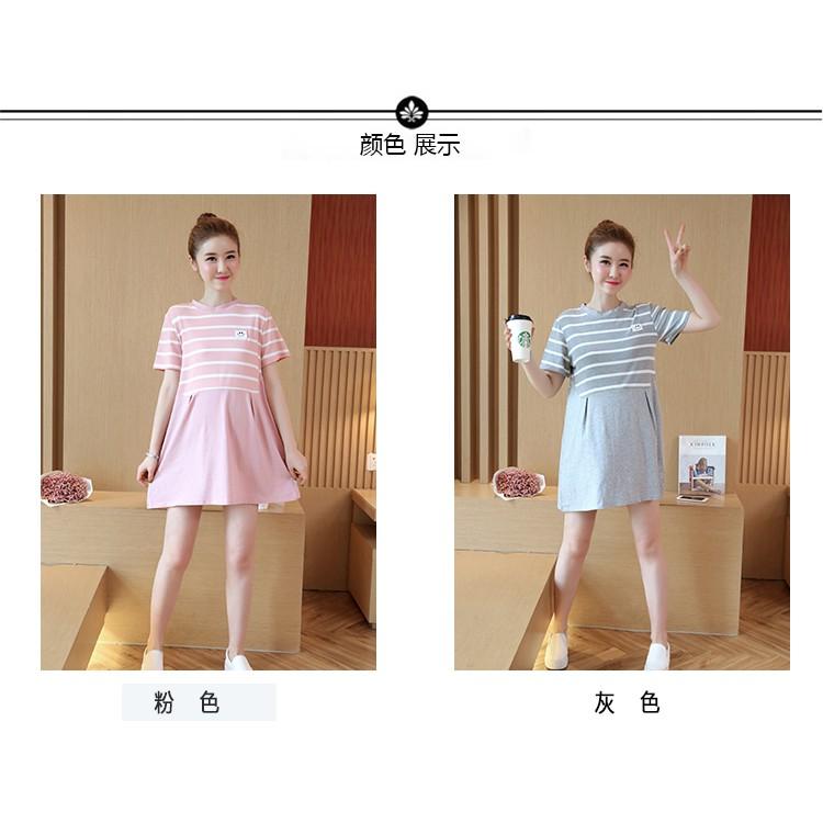 Đầm bầu , váy bầu ngắn dễ thương nâng động thanh lịch thích hợp cho dạo phố du lịch