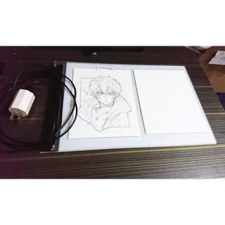 Bảng sáng / Bảng hắt sáng chỉnh được độ sáng để vẽ, đi nét size a4, a5