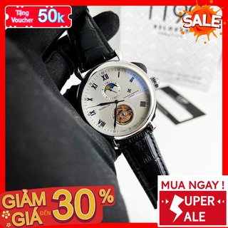 [QUÀ TẶNG] Đồng hồ cơ - Đồng Hồ Dây Da Nam Trẻ Trung Sang Trọng Chống Nước Chống Xước Tuyệt Đối 2628LP - 1199 Watches