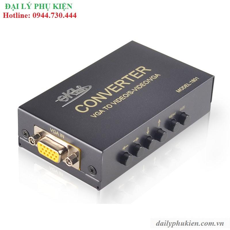 Bộ chuyển VGA sang AV, Svideo VGA EKL - 2890729 , 142147173 , 322_142147173 , 540000 , Bo-chuyen-VGA-sang-AV-Svideo-VGA-EKL-322_142147173 , shopee.vn , Bộ chuyển VGA sang AV, Svideo VGA EKL