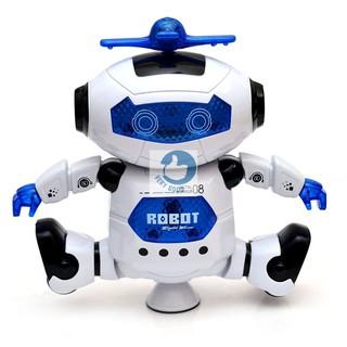 Robot thông minh khiêu vũ theo nhạc 360 độ WN60222