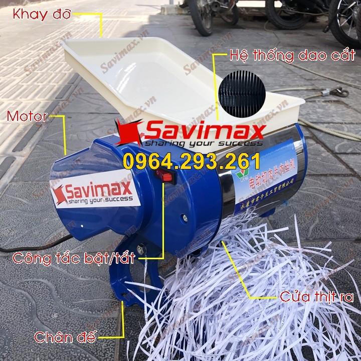 Máy thái thịt tươi sống mini SAVI SV70 công suất 550W