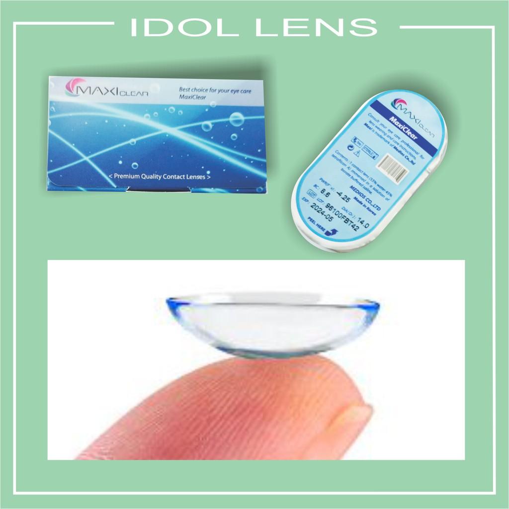 Lens cận thị trong suốt MAXIclear, hạn dùng 3 tháng, 01 miếng