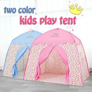 Lều vải trẻ em cỡ lớn mẫu hoàng tử, công chúa hình ngôi nhà cho bé từ 1 tuổi rộng thoáng