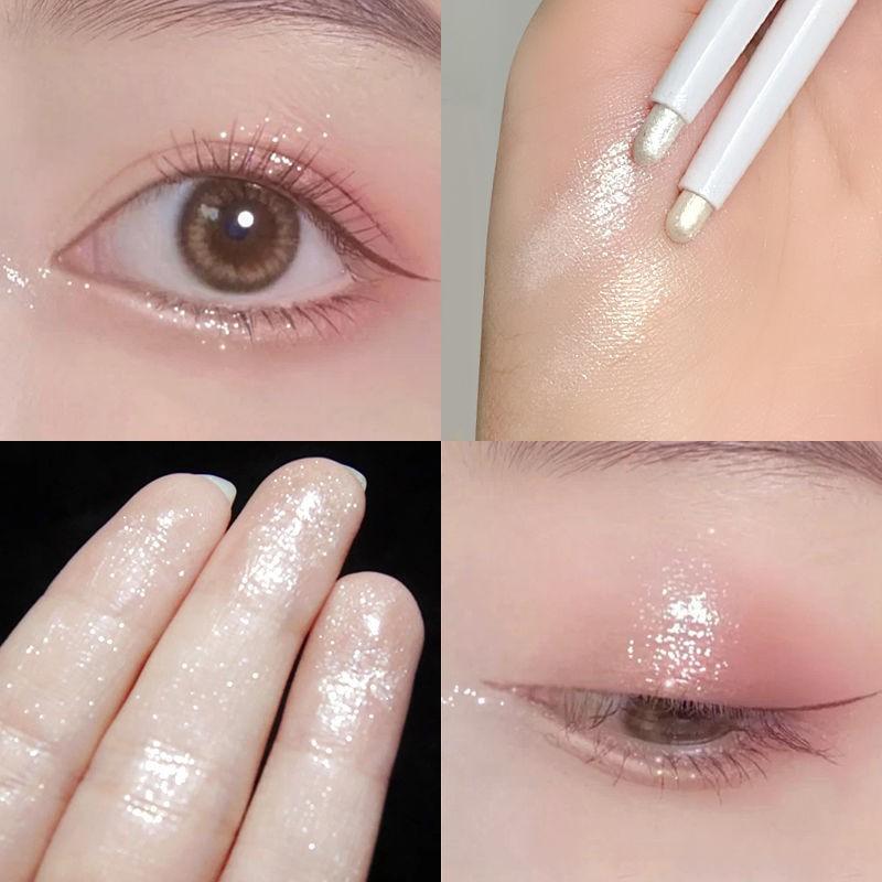 Bút bắt sáng ánh nhũ lấp lánh trang điểm mắt