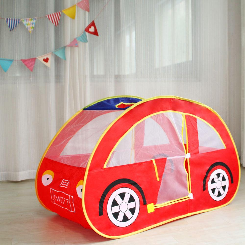 Car design Ball Poor Game Play House Tent For Kid play