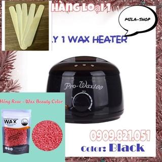 Combo nồi nấu sáp 2 Pro Wax100, hàng loại 1+1 gói sáp was ( khuyến mãi que lấy sáp ) siêu tiện lợi BẢO HÀNH 6 THÁNG