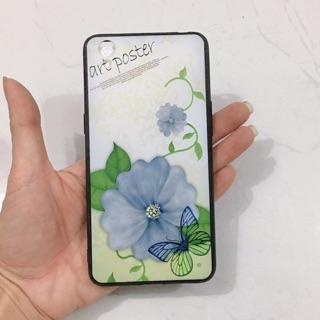 Ốp lưng oppo A37,Neo9 ( Hoa bướm xanh)