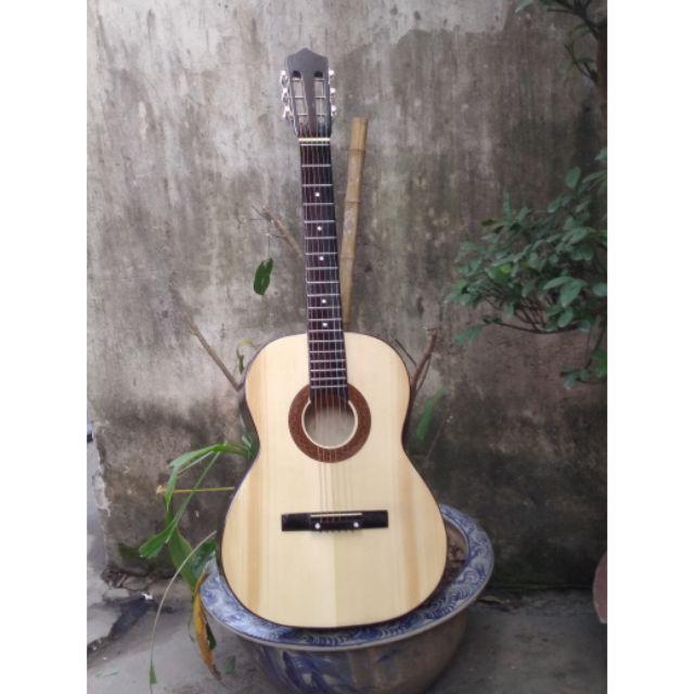 Đàn Guitar classic gỗ thông OG50. TẠI KHO XƯỞNG . Tăng hướng dẫn học cơ bản
