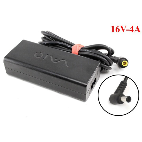 ⚡️[Chính Hãng] ⚡️ Sac laptop Sony Vaio 16V - 4A chân kim loại rẻ