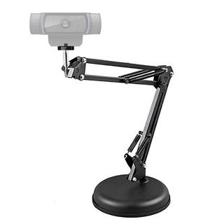 AMORUS Giá Đỡ Camera Kéo Dài Được Có Lò Xo Dành Cho Webcam Truyền Phát Trực Tuyến Logitech Pro C922