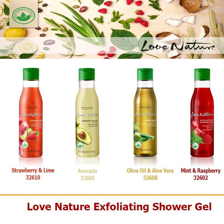 Sữa tắm tẩy da chết Love Nature Oriflame 32602 / 32605 / 32608 / 32610 - 2514283 , 682022664 , 322_682022664 , 121000 , Sua-tam-tay-da-chet-Love-Nature-Oriflame-32602--32605--32608--32610-322_682022664 , shopee.vn , Sữa tắm tẩy da chết Love Nature Oriflame 32602 / 32605 / 32608 / 32610