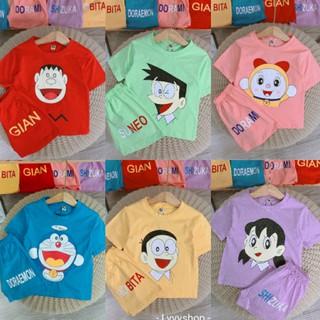 Lyvyshop - (Cotton SG chính phẩm) Bộ quần áo cho bé trai, bé gái từ 09-28kg