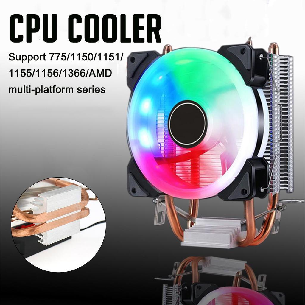 [Xả kho] Tản Nhiệt Khí cool storm T50 Led RGB Dual Fan-Hỗ Trợ All CPU