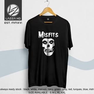 Áo Thun In Logo The Misfits Distro Thời Trang Năng Động