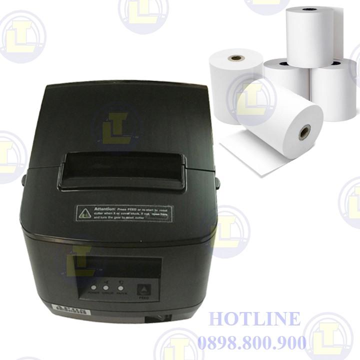 Máy in hóa đơn Xprinter XP-160US( cổng USB, khổ 80mm)