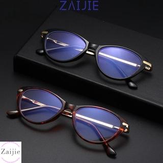 💜ZAIJIE💜 Fashion Blue Light Blocking Glasses Non-Prescription Eyeglasses Computer Glasses Women & Men Reading Gaming Anti Eye Eyestrain Oval Frame Blue Light Blocker Glasses