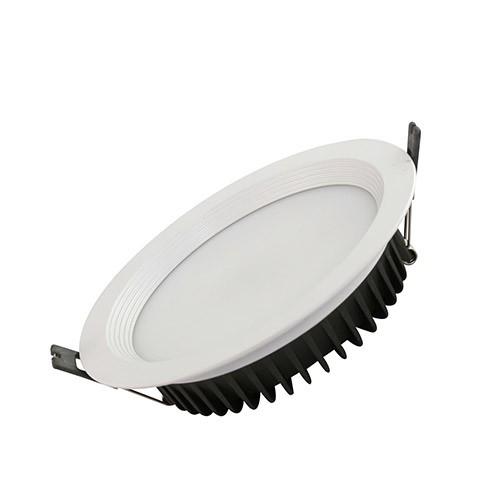 Đèn LED âm trần 25W Rạng Đông, khoét lỗ 155mm, vỏ nhôm đúc, cánh tản nhiệt