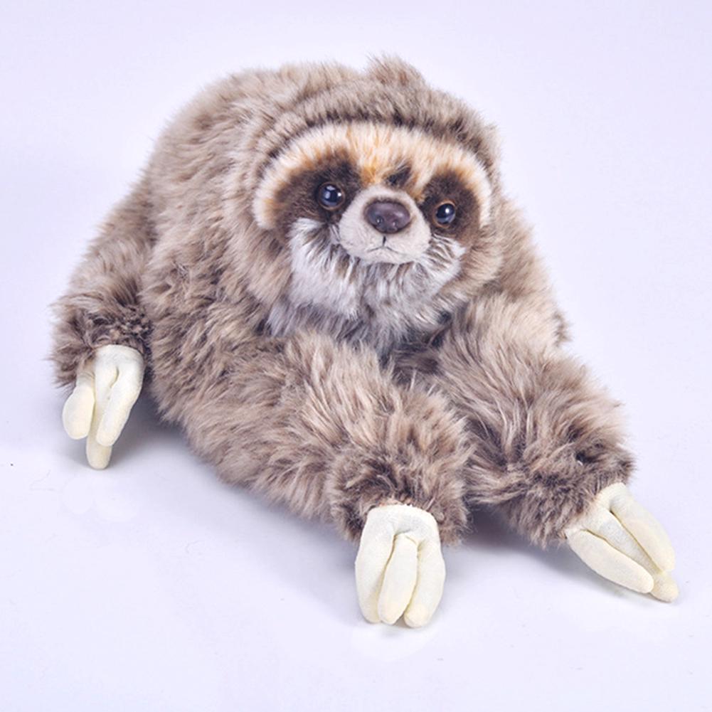 Lying Three Toed Animals Cute Plush Sloth Soft Critters Birthday Stuffed Toy