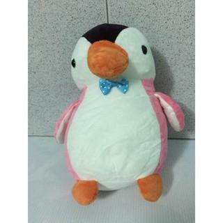 Gấu bông # Thú nhồi bông # Chim cánh cụt hồng 20cm.