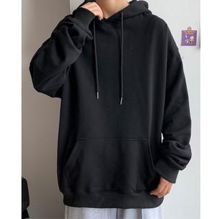 {Hàng đẹp} Áo Hoodie Basic Trơn UNISEX siêu hot – áo hoodie nam nữ form rộng Hàn Quốc