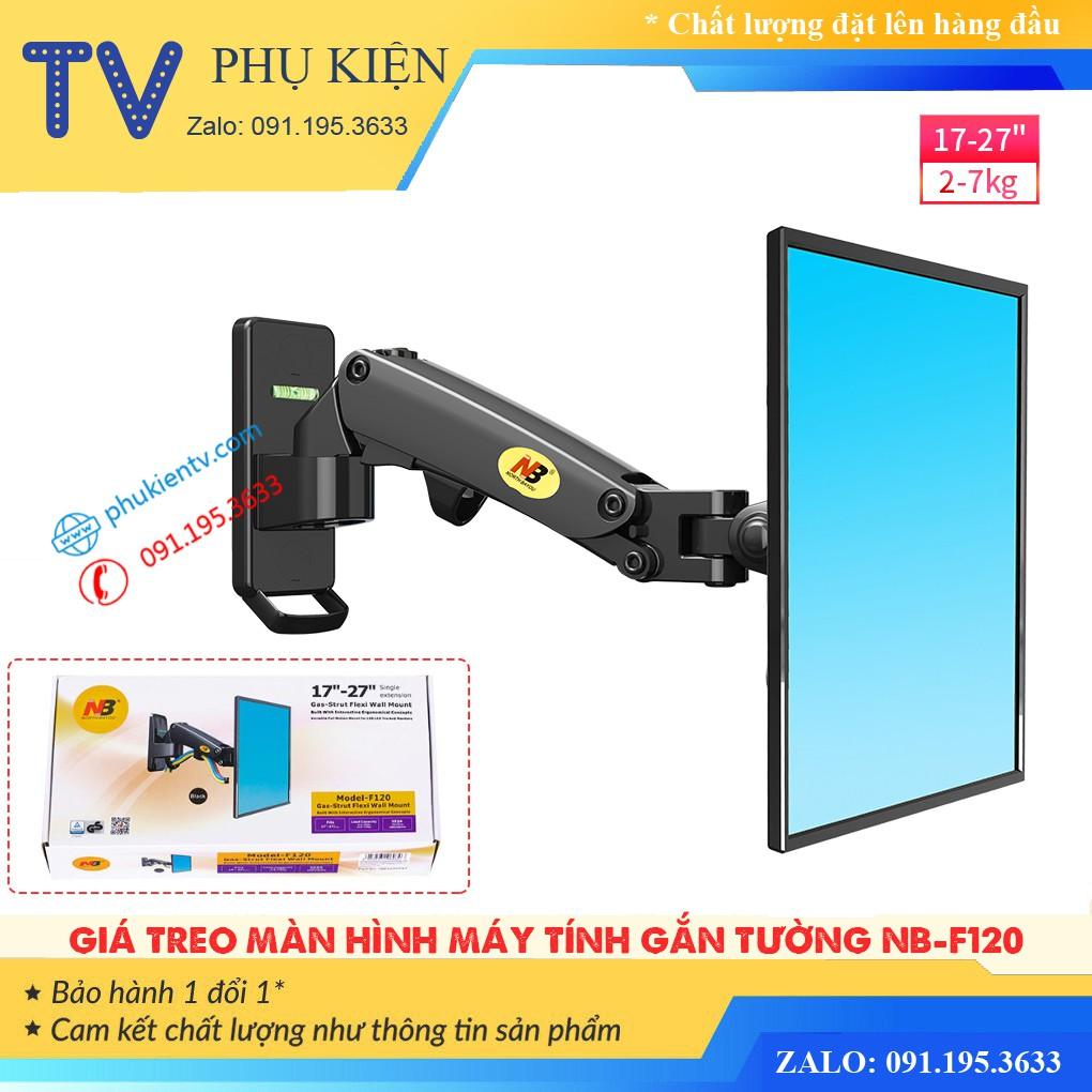 Giá treo màn hình máy tính & tivi NB F120 - Hàng nhập khẩu