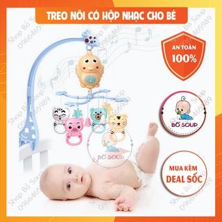 Treo Nôi Có Hộp Nhạc Cho Bé Xoay 360 Độ Shop Bố Soup thumbnail