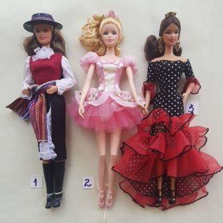 Búp bê barbie Dolls Of the world,Ballet đã qua sử dụng