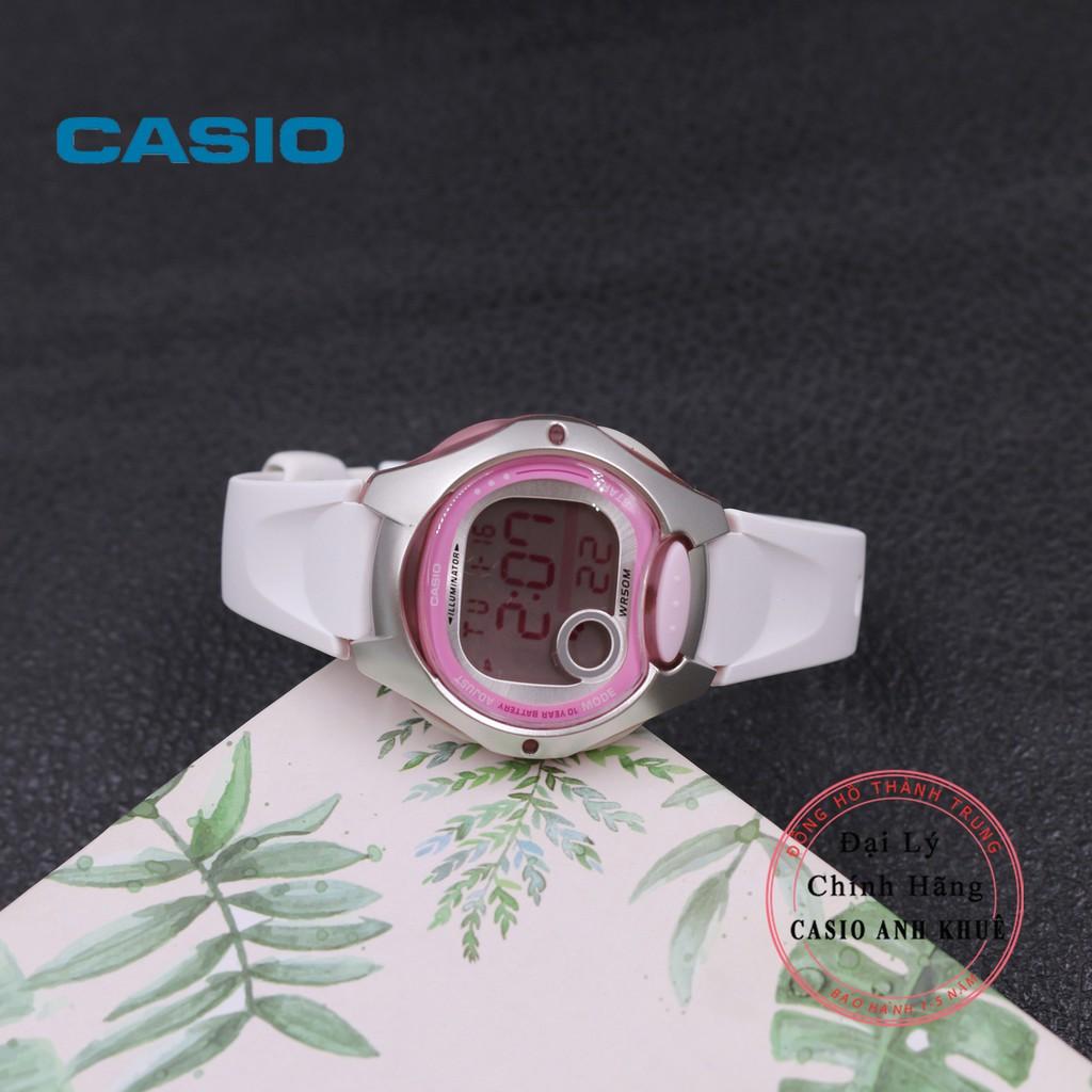 Đồng Hồ Nữ Casio LW-200-7AVDF Dây Nhựa Pin 10 Năm