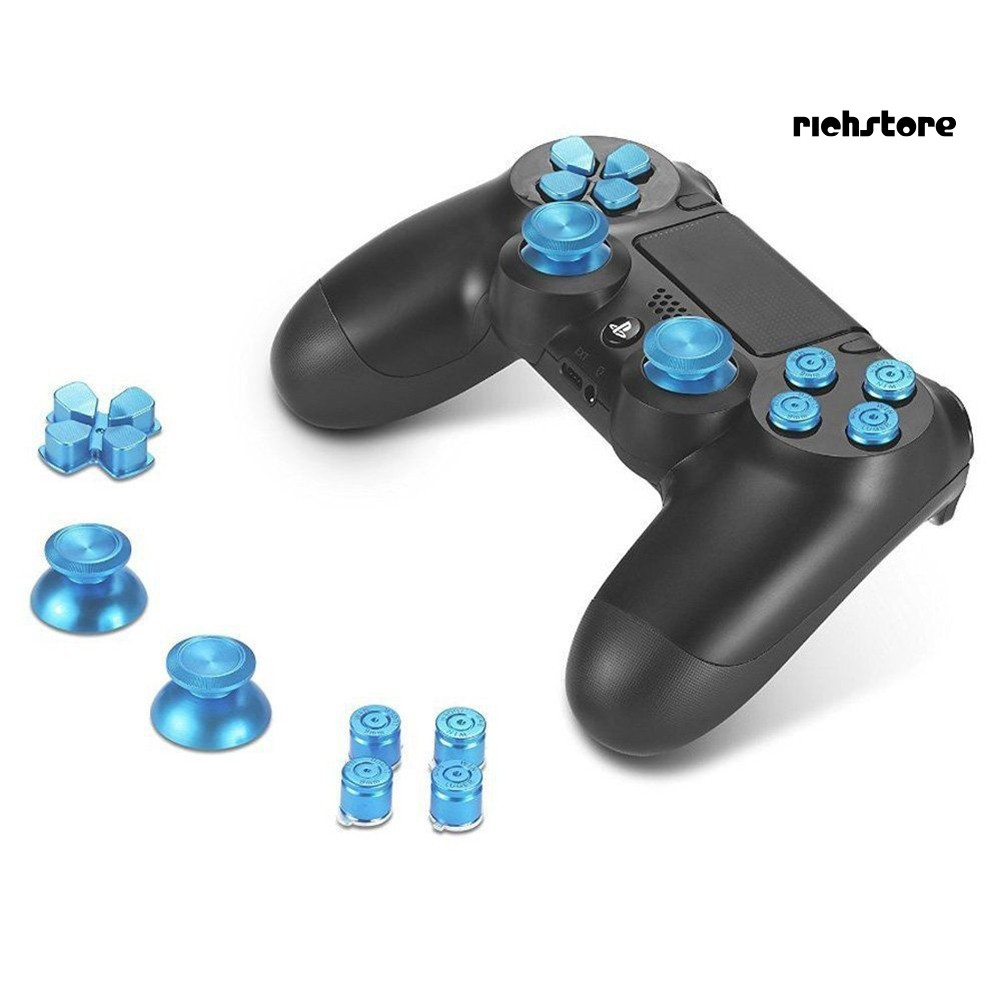 Nút Bấm Thay Thế Bằng Kim Loại Bền Cho Tay Cầm Chơi Game Sony Ps4