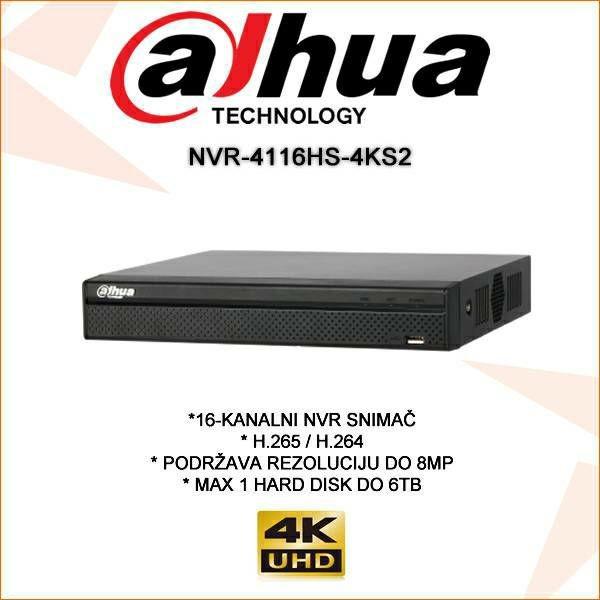 Đầu ghi hình 16 kênh camera IP NVR4116HS-4KS2