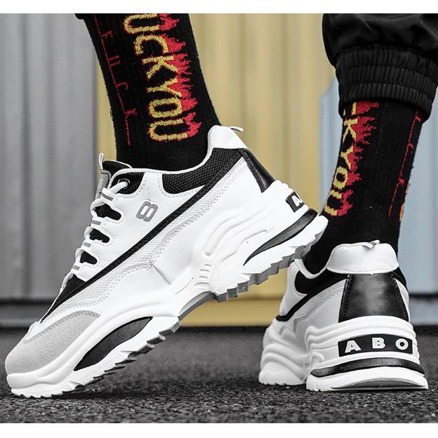 [GIÁ CỰC SỐC] Giày Sneaker Nam Cao Cấp Hàn Quốc 2019 - [PLAYBOY] (PL06)