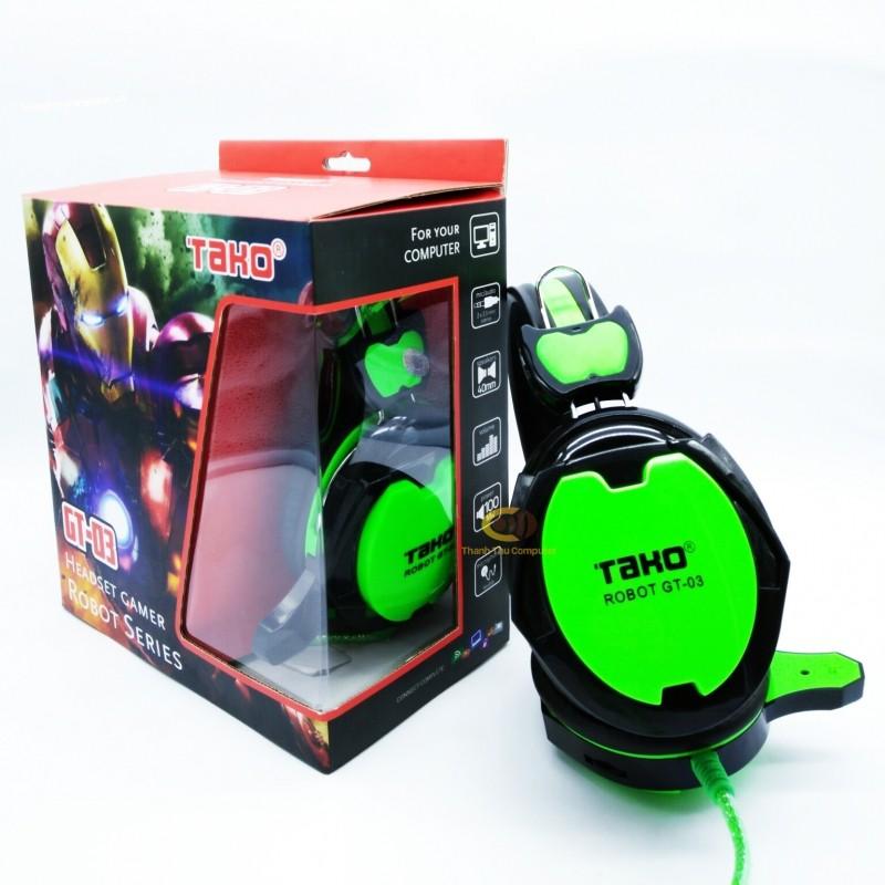 Tai nghe TAKO Robot GT- 03 Full box, chính hãng