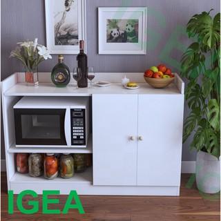 Tủ Nhà Bếp gỗ hiện đại 2 Cánh Có Kệ(3 màu CÓ SẴN) GP39