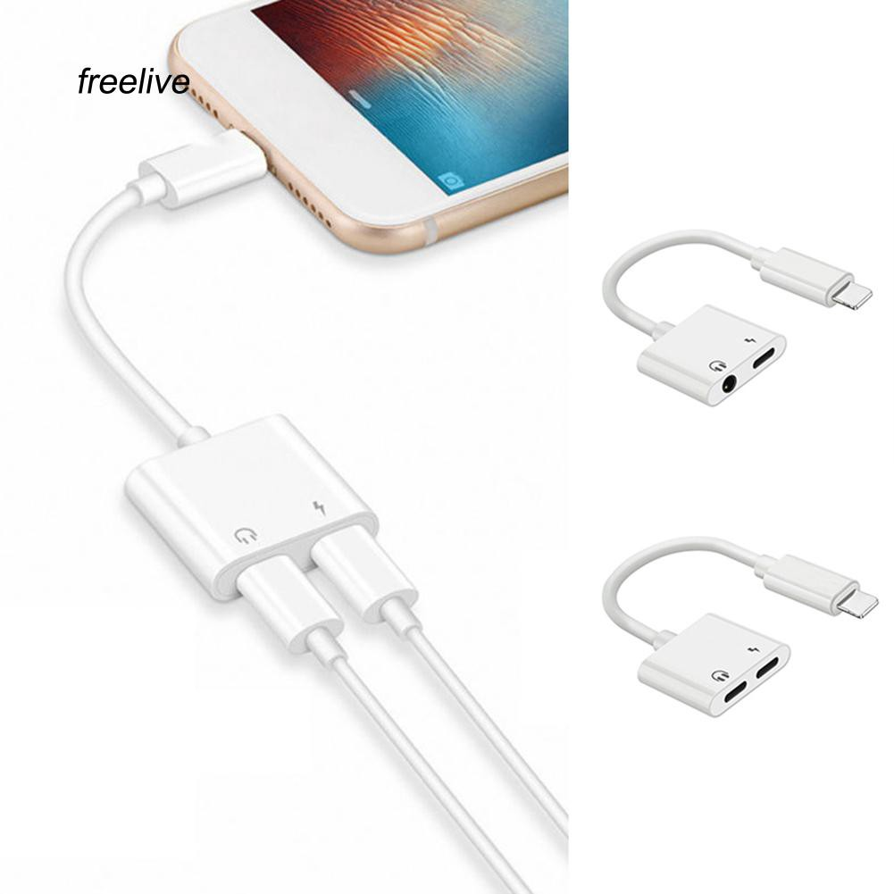 Dây cáp chia cổng sạc và tai nghe 2 trong 1 cho iPhone X / 8 / 7 - 14074998 , 2124838428 , 322_2124838428 , 192000 , Day-cap-chia-cong-sac-va-tai-nghe-2-trong-1-cho-iPhone-X--8--7-322_2124838428 , shopee.vn , Dây cáp chia cổng sạc và tai nghe 2 trong 1 cho iPhone X / 8 / 7