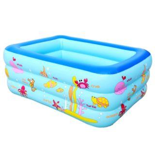 Bể tắm cho trẻ 3 tầng dài 150cm