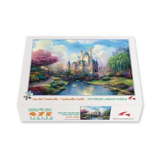 Bộ tranh xếp hình 475 mảnh – Lâu Đài Cinderella