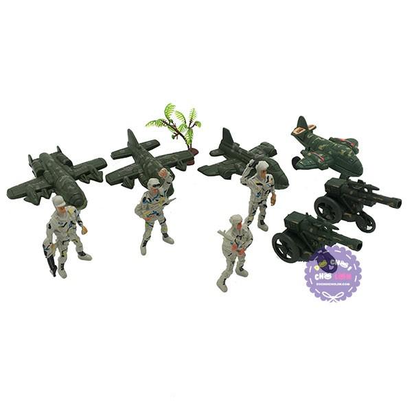 Đồ chơi mô hình lính nhựa máy bay quân sự Combat Set - 2866950 , 420145662 , 322_420145662 , 28000 , Do-choi-mo-hinh-linh-nhua-may-bay-quan-su-Combat-Set-322_420145662 , shopee.vn , Đồ chơi mô hình lính nhựa máy bay quân sự Combat Set