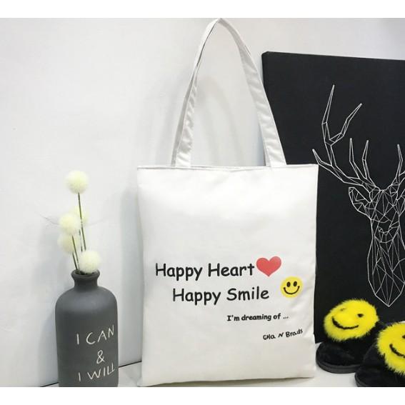 Túi vải tote HAPPY - TTS 228