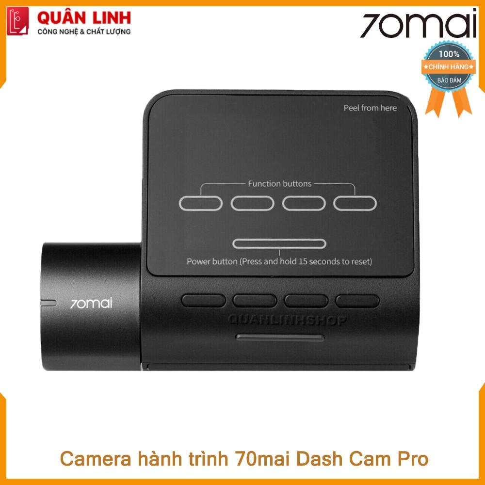 Camera hành trình 70mai Dash Camera Pro kèm thẻ 32GB - phiên bản nội địa up sang tiến