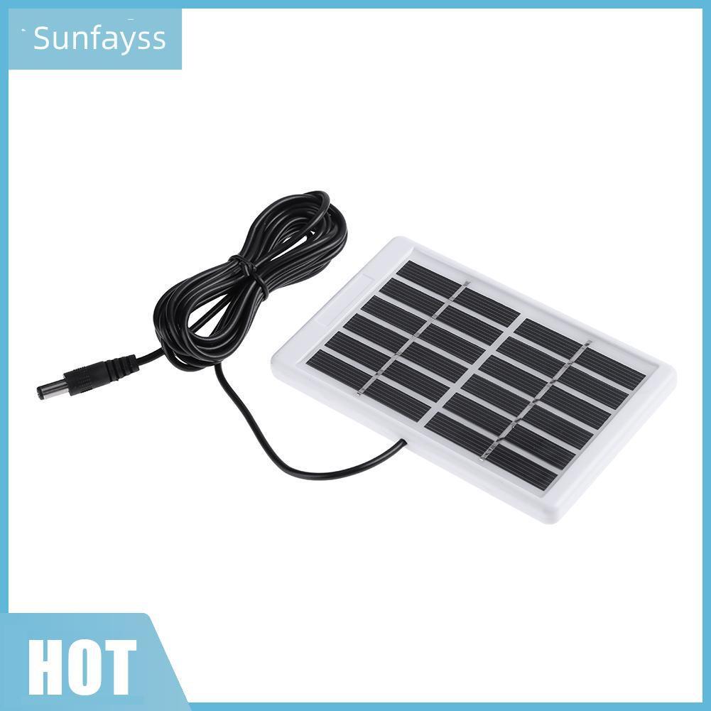 SF Bộ Sạc Pin Năng Lượng Mặt Trời Polycryline Dc 6v 1.2w - Pin sạc dự phòng  di động
