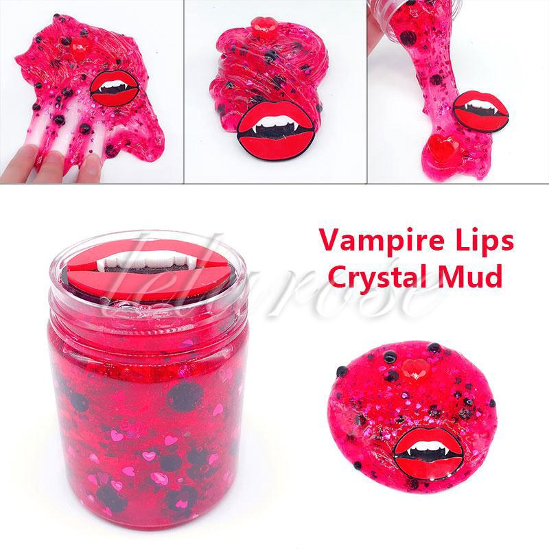 【New Arrival】 Clay Toys Creative Vampire Lips Relax