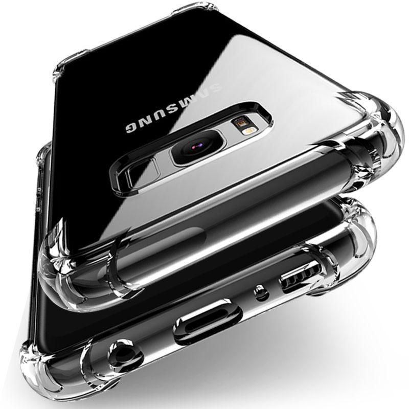 Ốp điện thoại trong suốt chất lượng cao dành cho Samsung Galaxy S8/S8+ S7/S7 Edge S6 A3 A5 A7 Hana Case